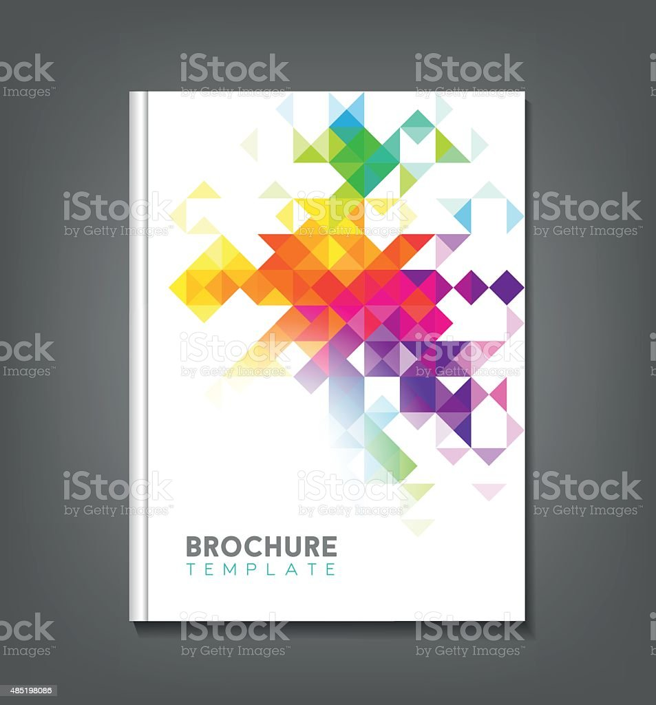 Abstract Brochure Template vector art illustration