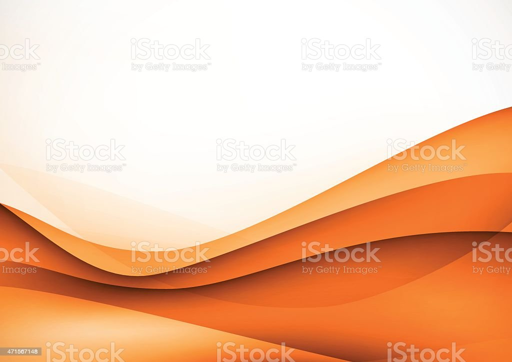 abstract brown technology wave pattern background vector art illustration