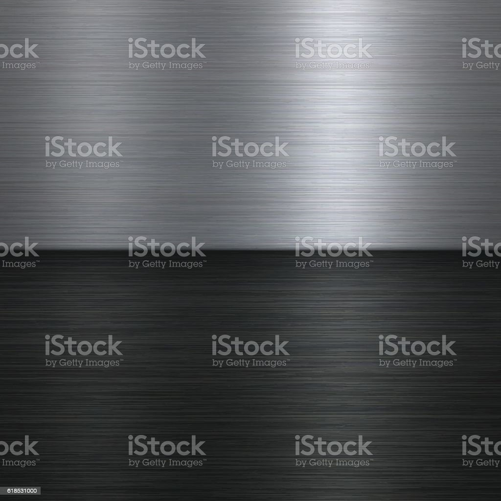 Abstract Brushed Metal Background vector art illustration
