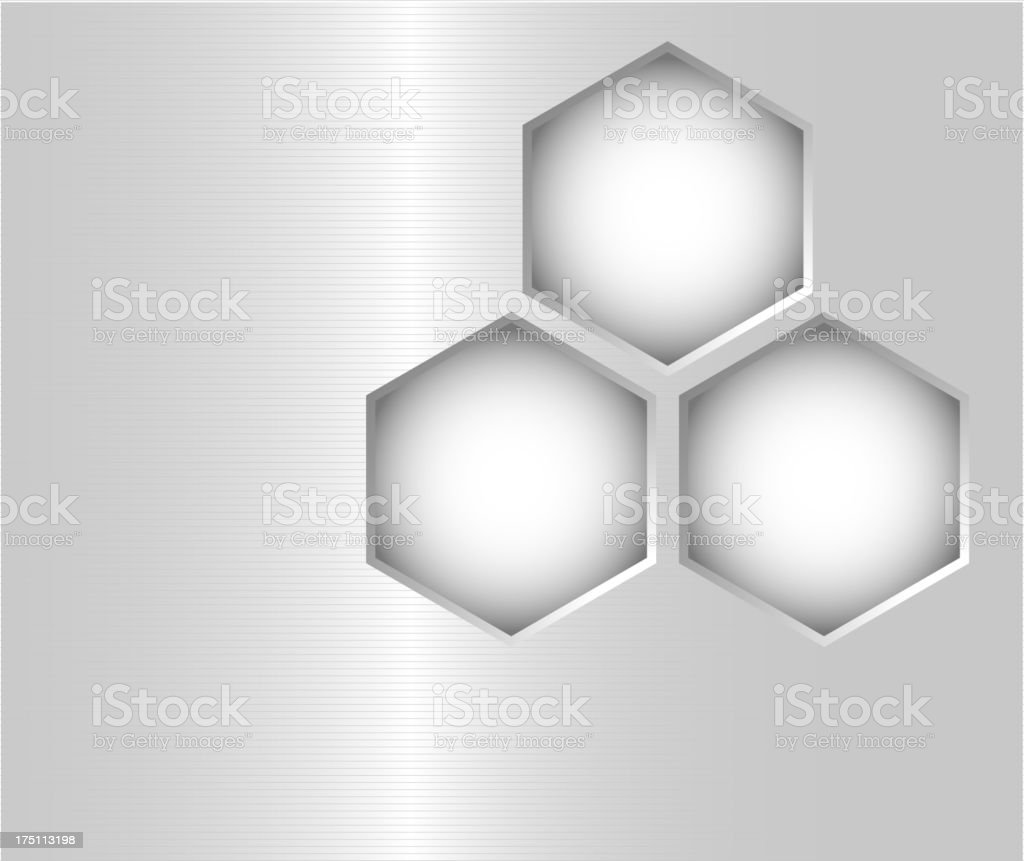 Abstract brushed metal surface background royalty-free stock vector art