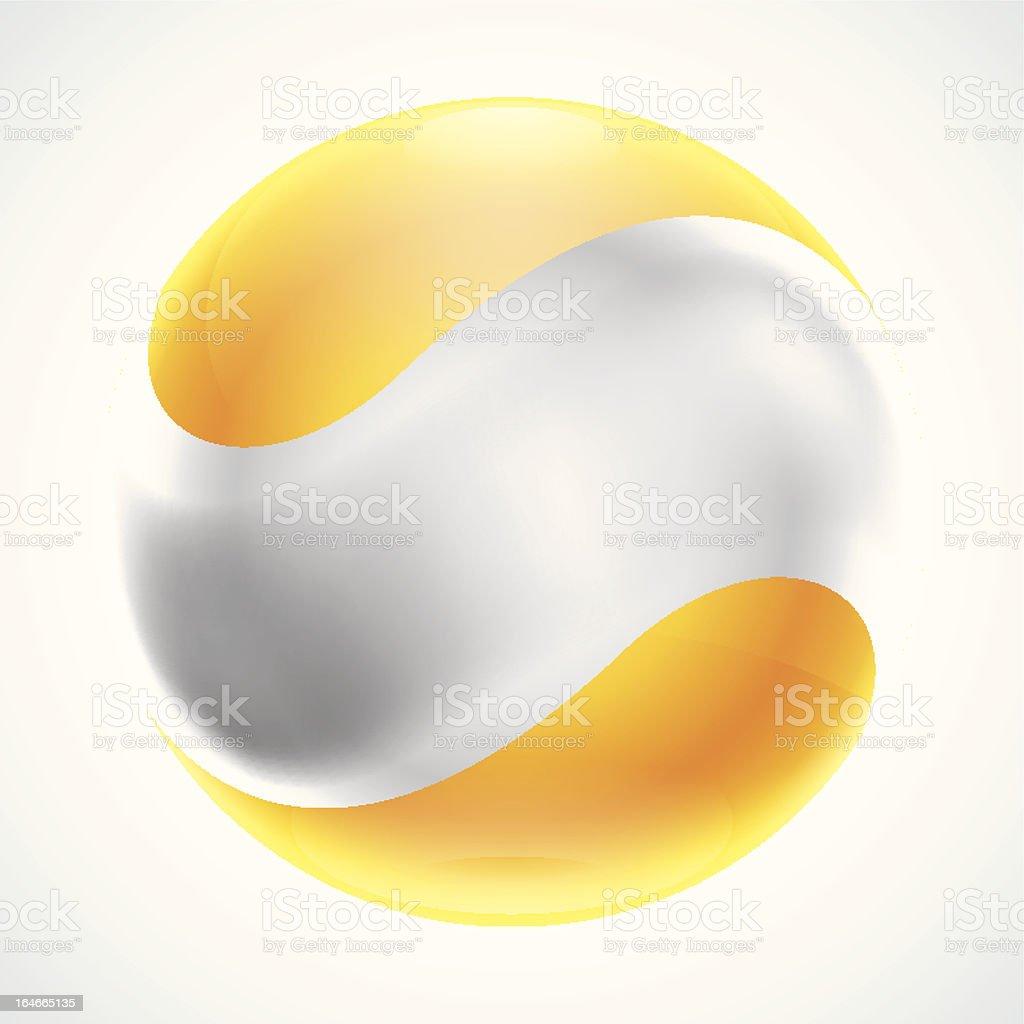Abstract Bubble Symbol royalty-free stock vector art