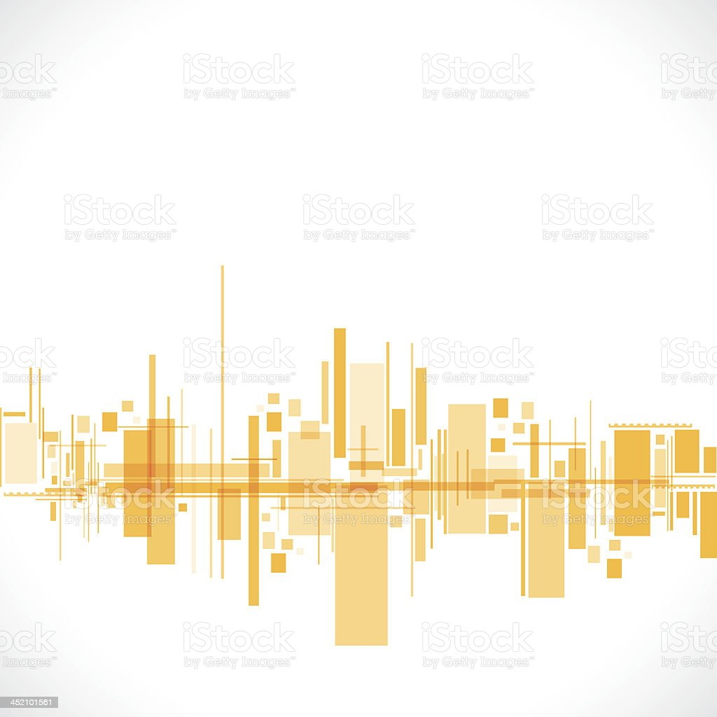 abstract building royalty-free stock vector art