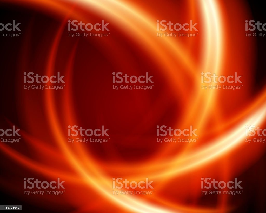 Abstract burn fractal royalty-free stock vector art