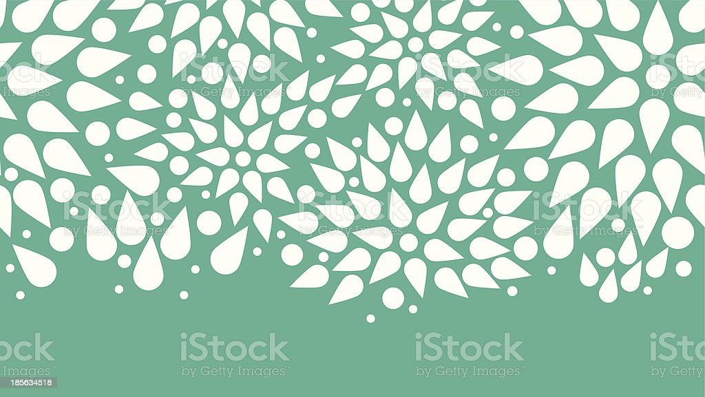 abstract bursts seamless pattern background horizontal border royalty-free stock vector art