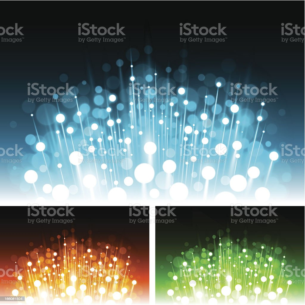Abstract candles vector background vector art illustration