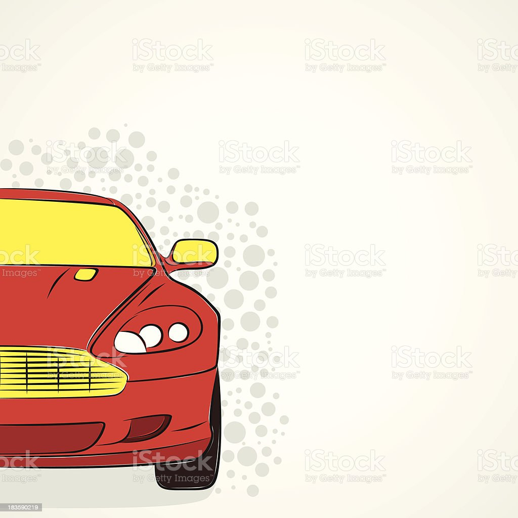 abstract car royalty-free stock vector art