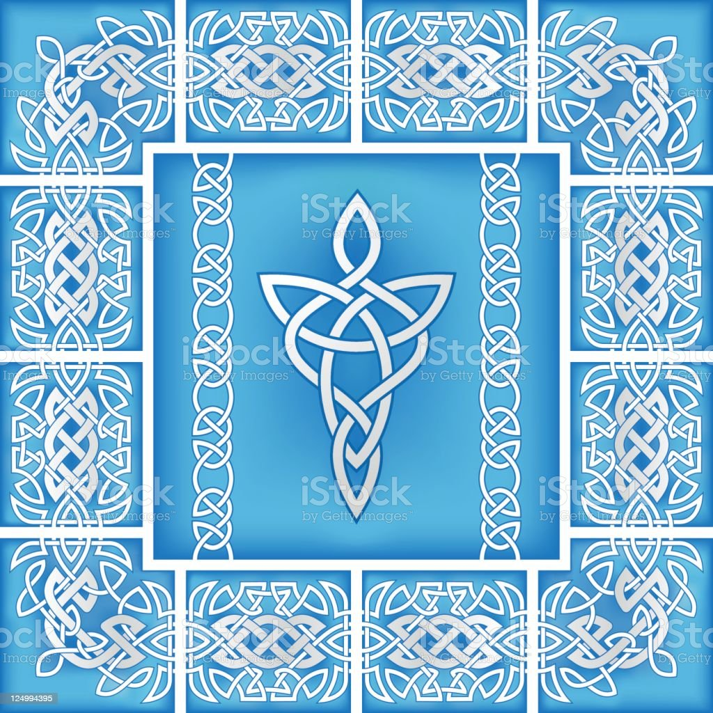 abstract celtic design royalty-free stock vector art