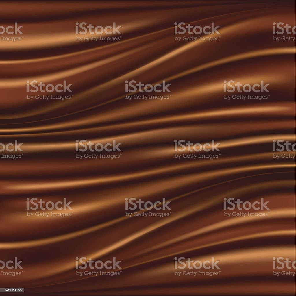 Abstract chocolate background vector art illustration