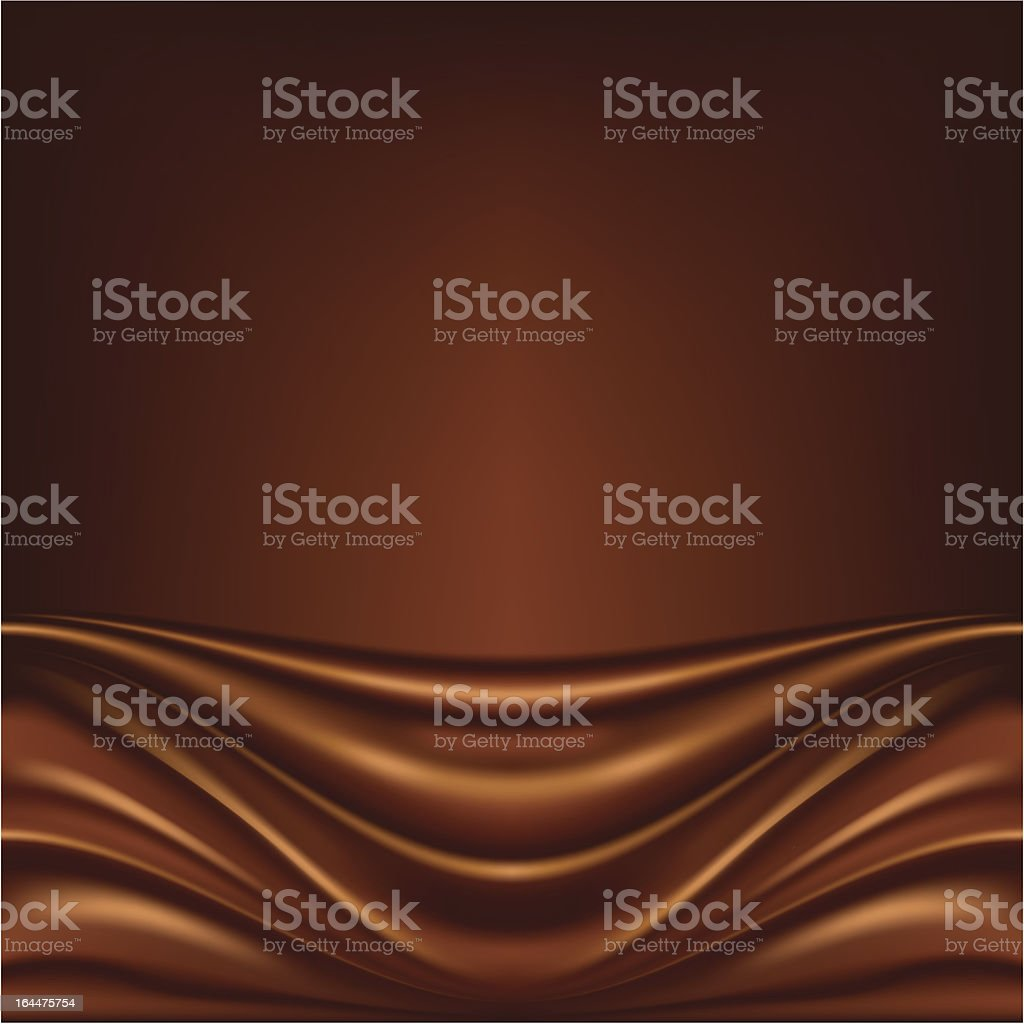 Abstract chocolate background royalty-free stock vector art