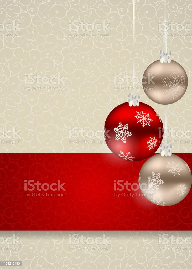 Abstract  Christmas and New Year frame background. vector illustration royalty-free stock vector art