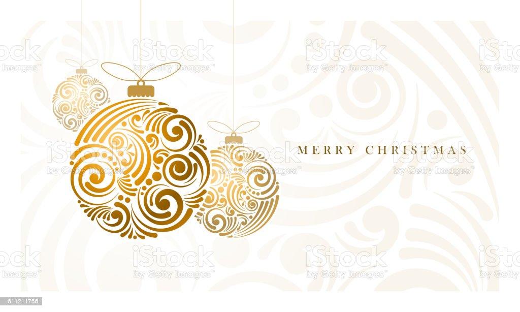 Abstract Christmas Balls royalty-free stock vector art