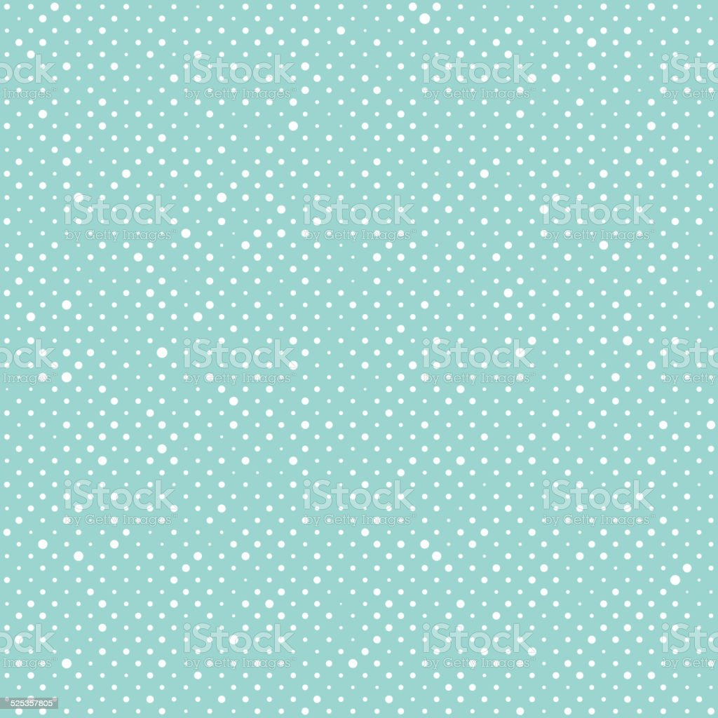 Abstract Christmas  seamless background with dots vector art illustration