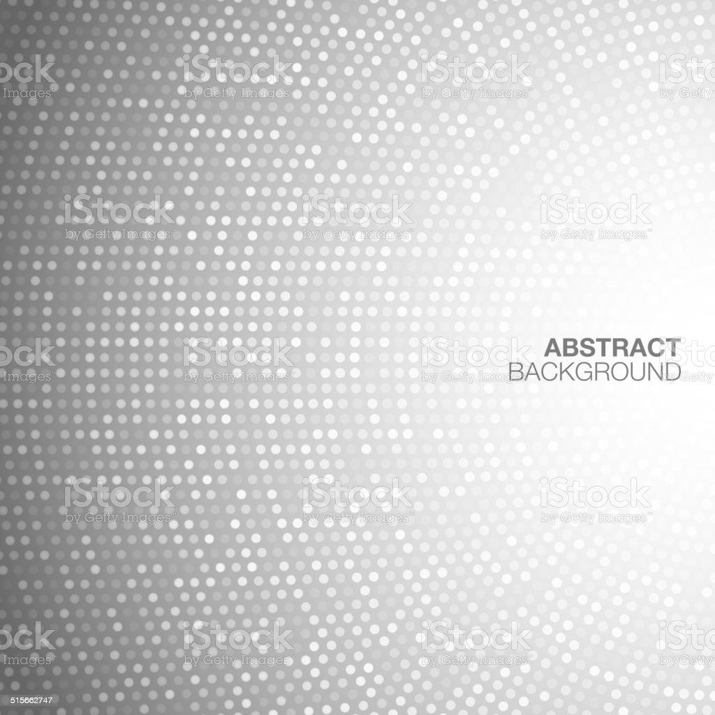 Abstract Circular Light Gray Background. vector art illustration