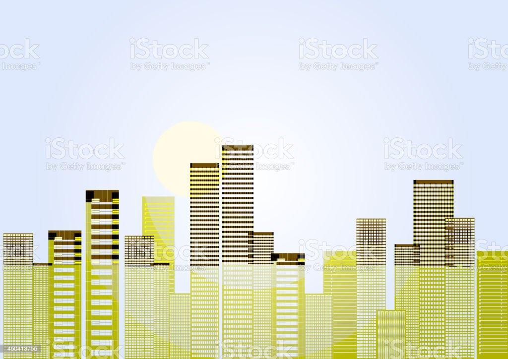 abstract city background royalty-free stock vector art