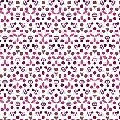 abstract color dot pattern background