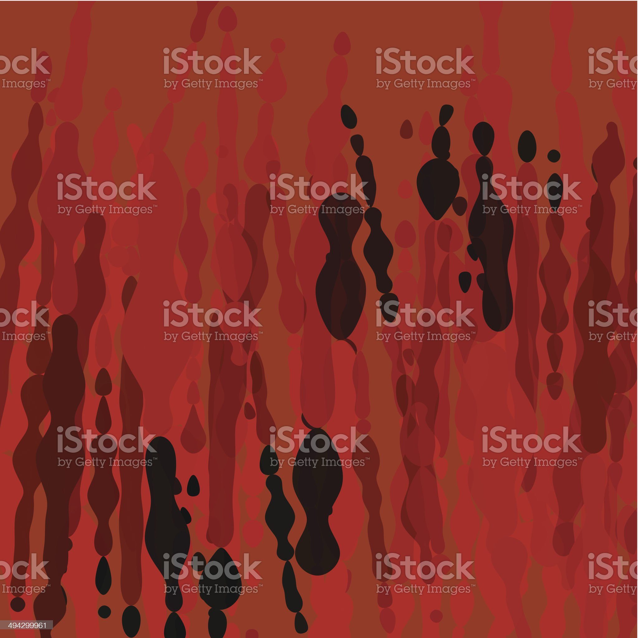 abstract color drop shape background royalty-free stock vector art