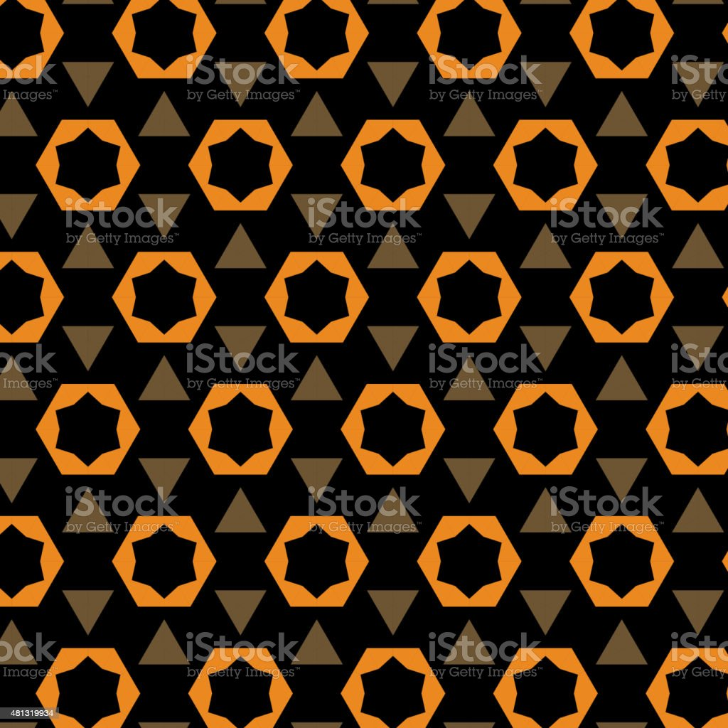 abstract color geometry pattern background vector art illustration
