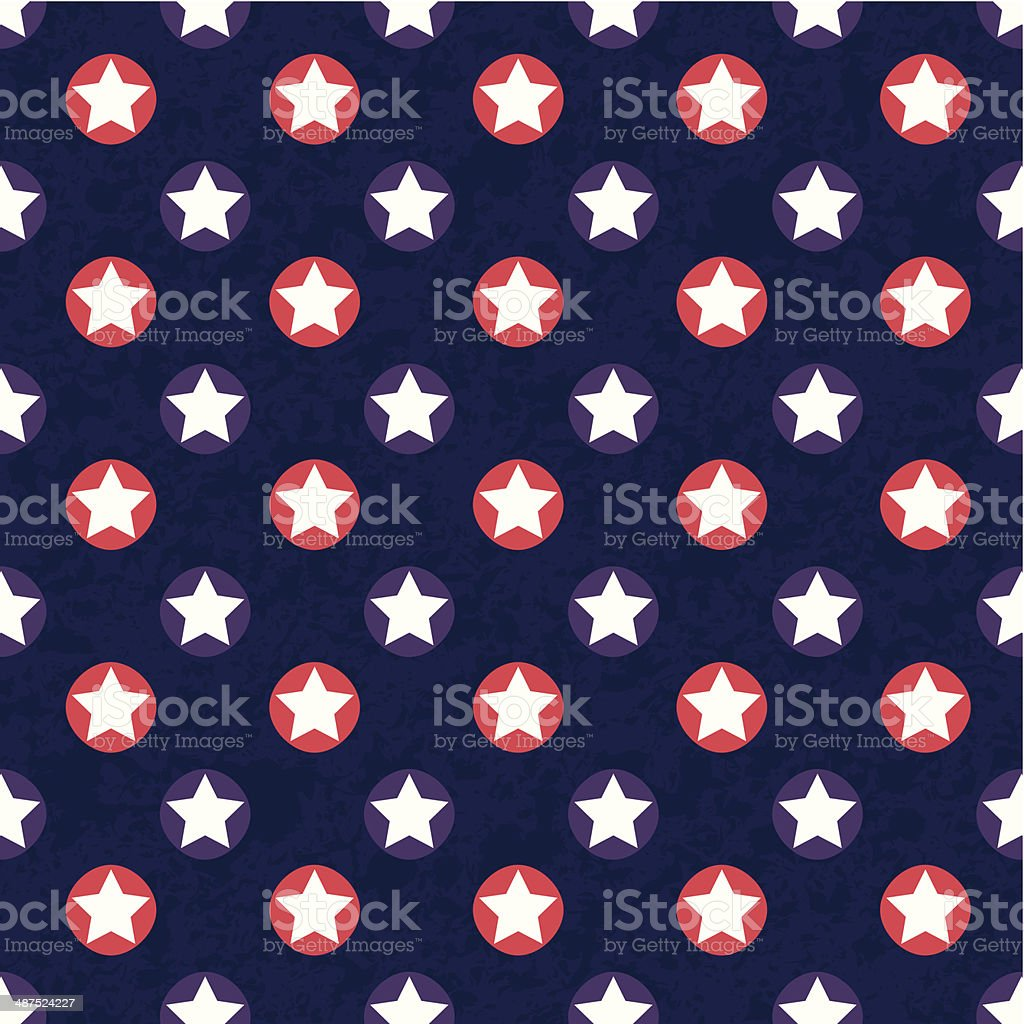 abstract color star pattern with texture background royalty-free stock vector art