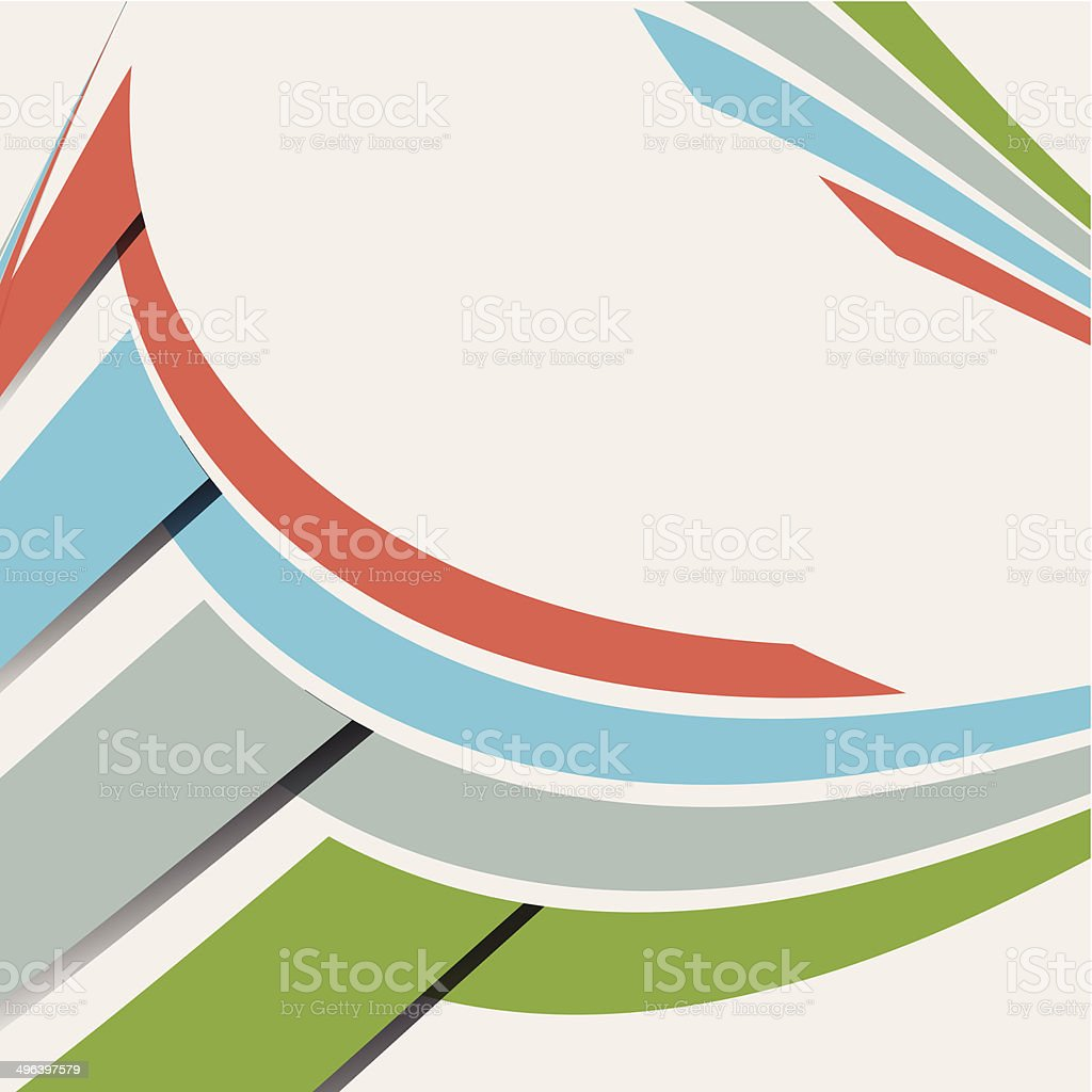 abstract color stripe pattern background vector art illustration