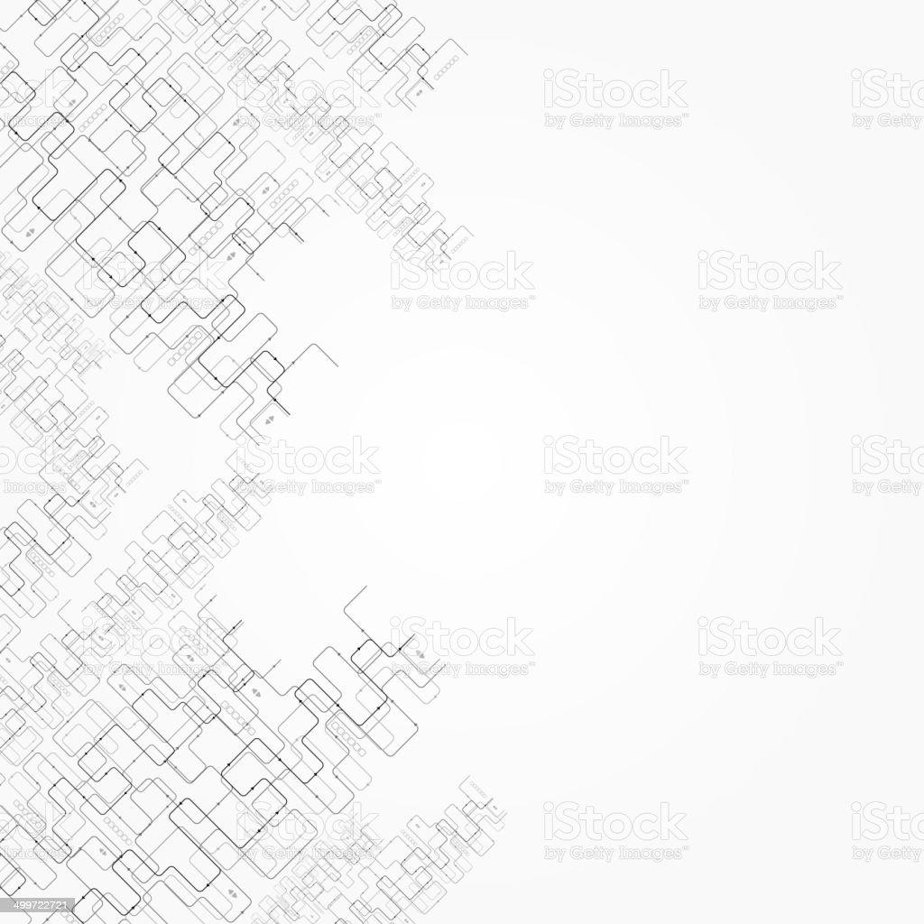 Krummung, Weben Linien Der Farbe (Computer-generierten, Abstrakten ...