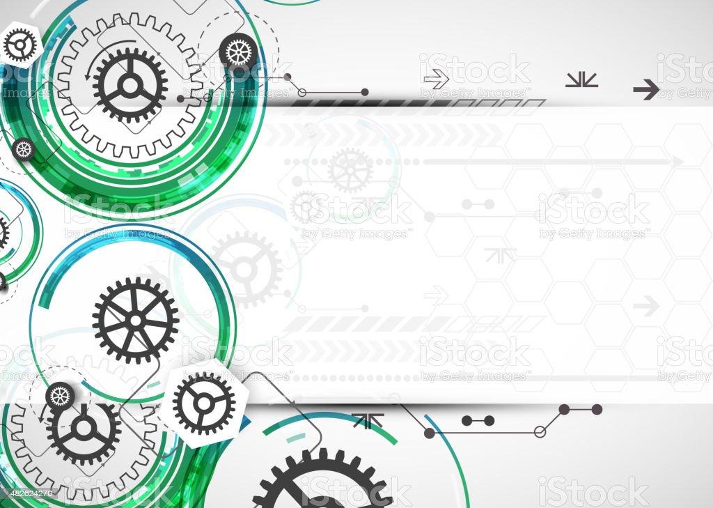 Abstrakte Farbe Technologie Computer Technologie Hintergrund ...