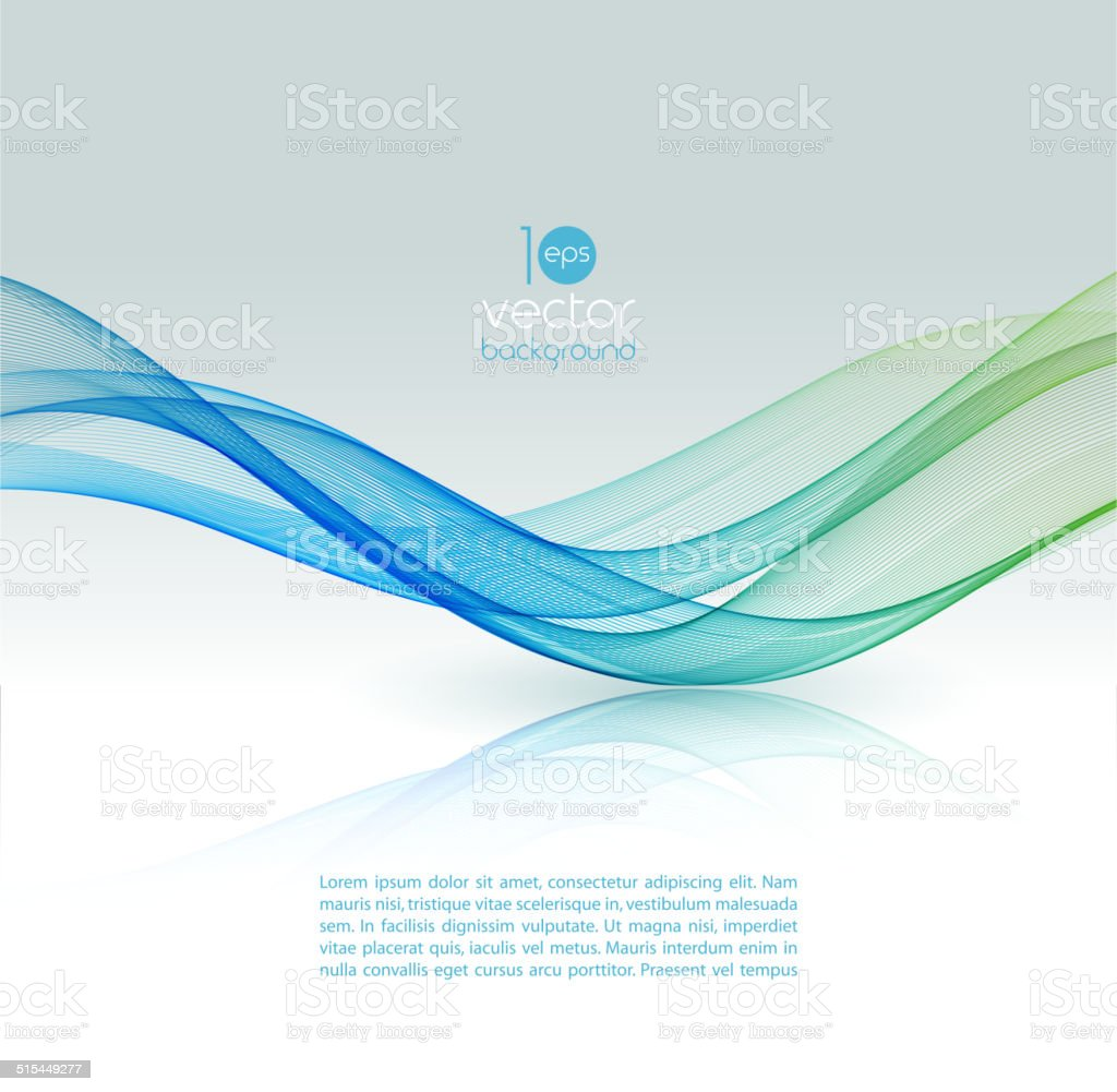 Abstract color template background. vector art illustration
