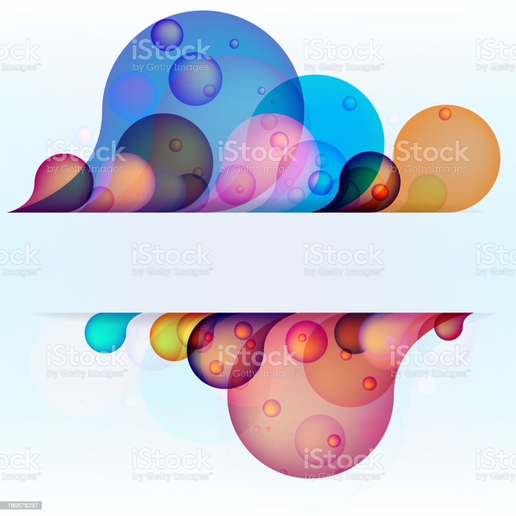 Abstract colored background. + EPS10 royalty-free stock vector art