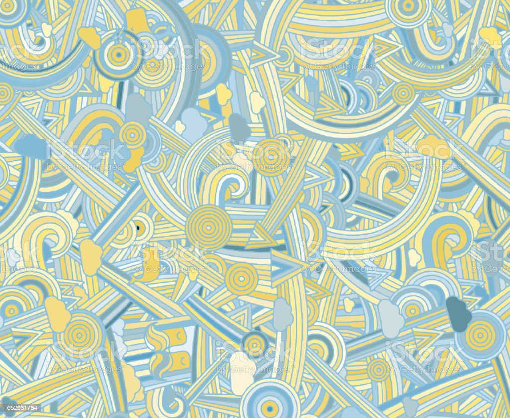 Abstract colored background from a variety of patterns.Vector vector art illustration