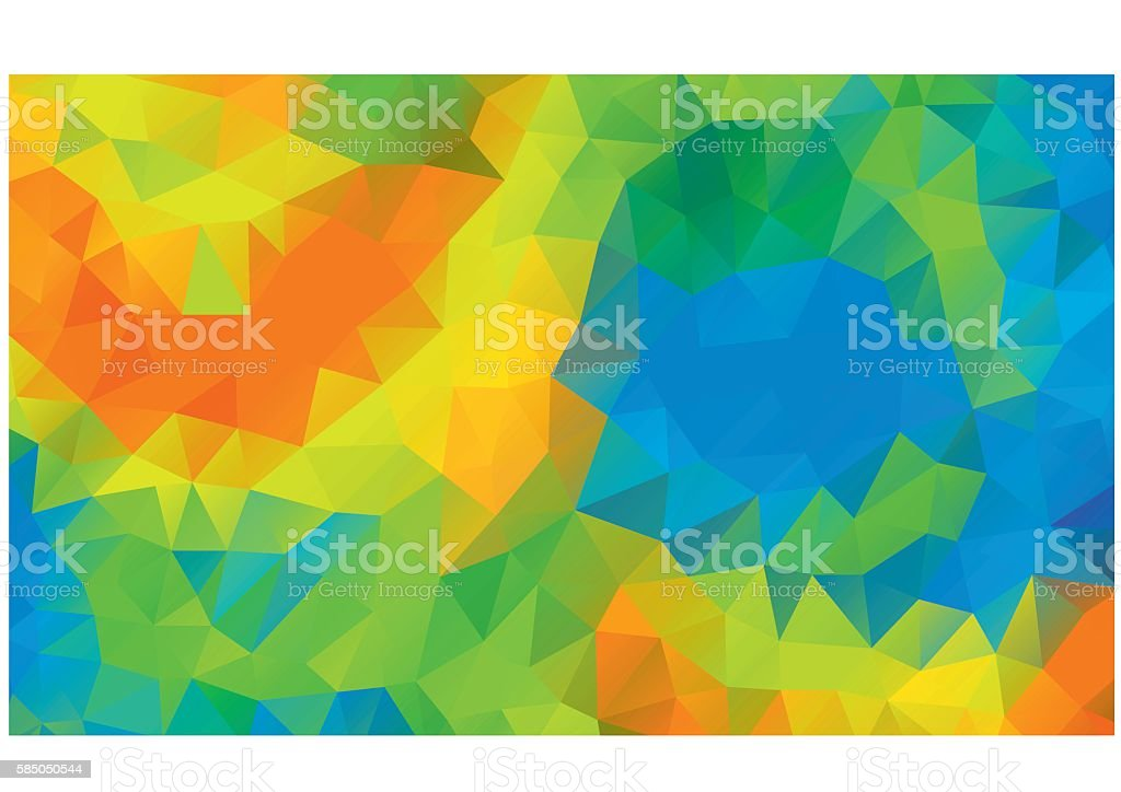 Abstract colorful background Rio 2016 Brazil athletic games vector art illustration