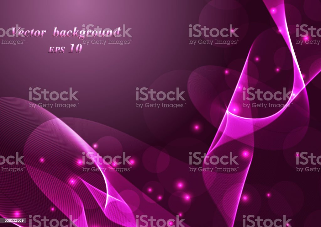 Abstract colorful background smoke wave vector art illustration