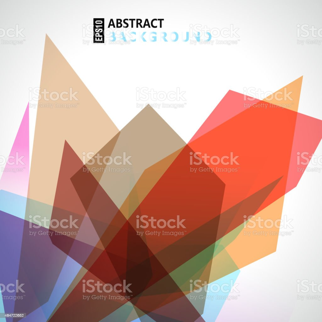 abstract colorful background vector art illustration