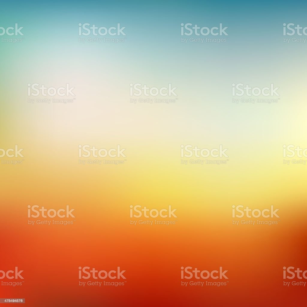 Abstract colorful blurred vector backgrounds vector art illustration