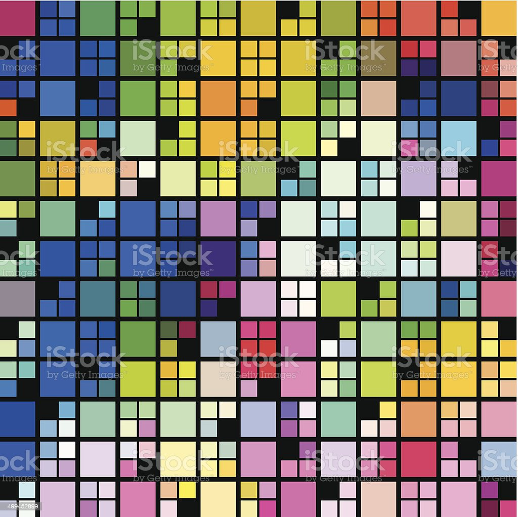 abstract colorful check pattern background royalty-free stock vector art