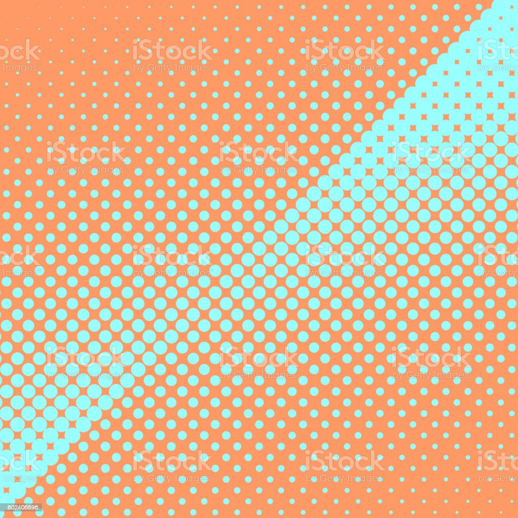 Abstract colorful halftone, minimalistic background from dots. Comic style backdrop, gradient halftone pop-art retro style. Template for ad, covers, posters, advertising actions vector art illustration