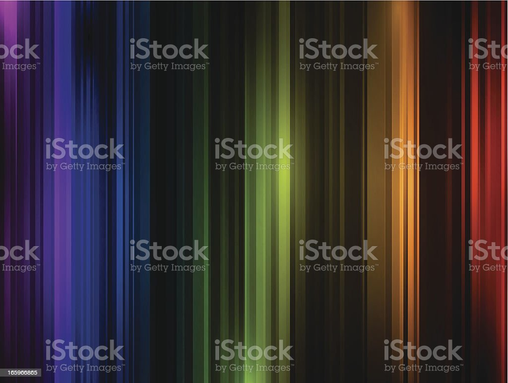 Abstract colorful lines royalty-free stock vector art