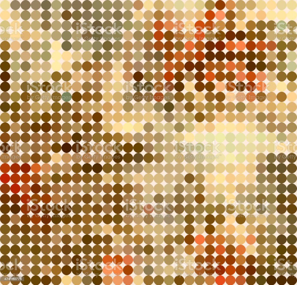 abstract colorful polka dots pattern background royalty-free stock vector art