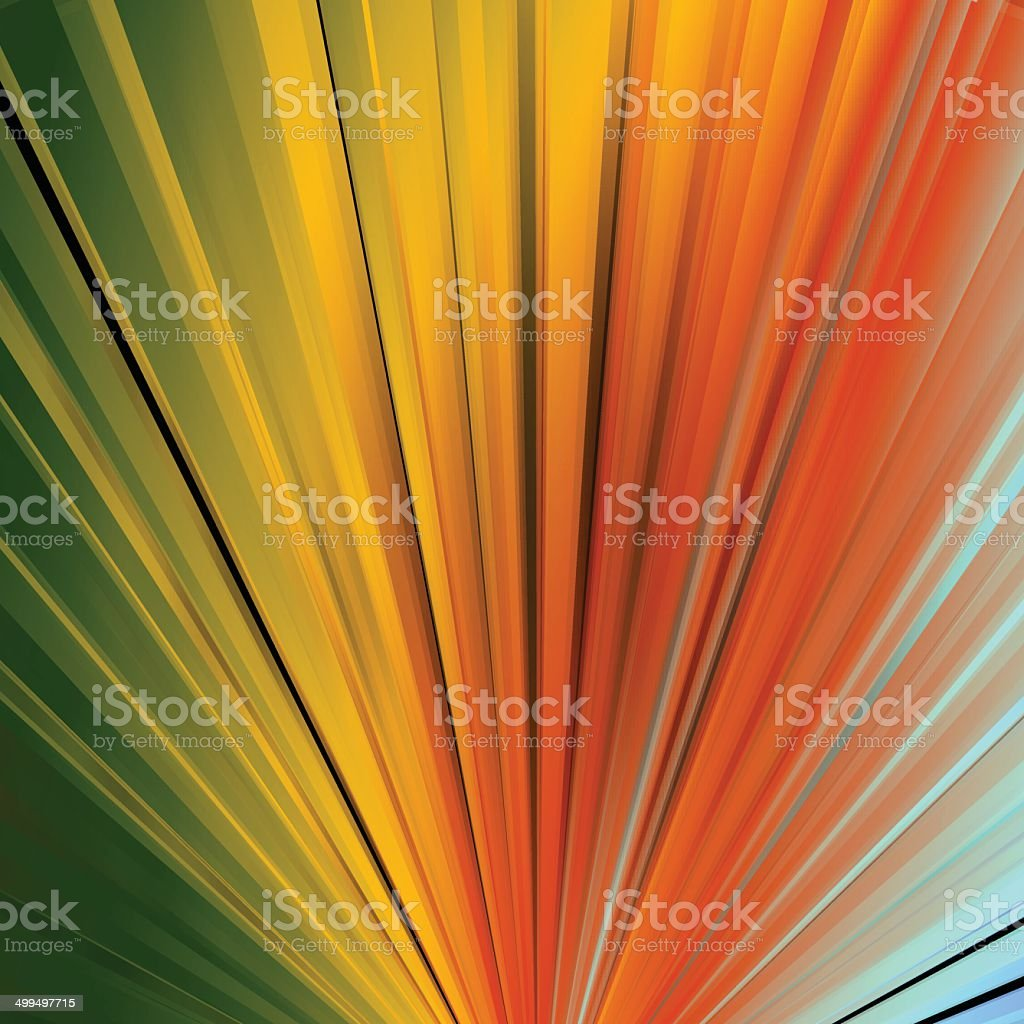 abstract colorful ray stripe pattern background vector art illustration