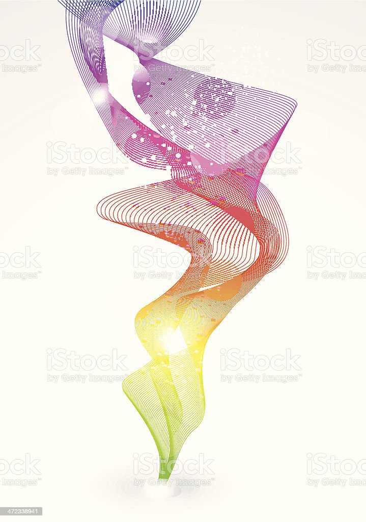 abstract colorful smoke background royalty-free stock vector art
