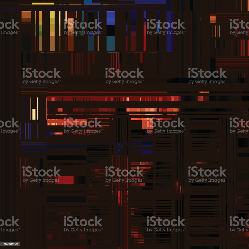 abstract colorful stripe pattern background vector art illustration