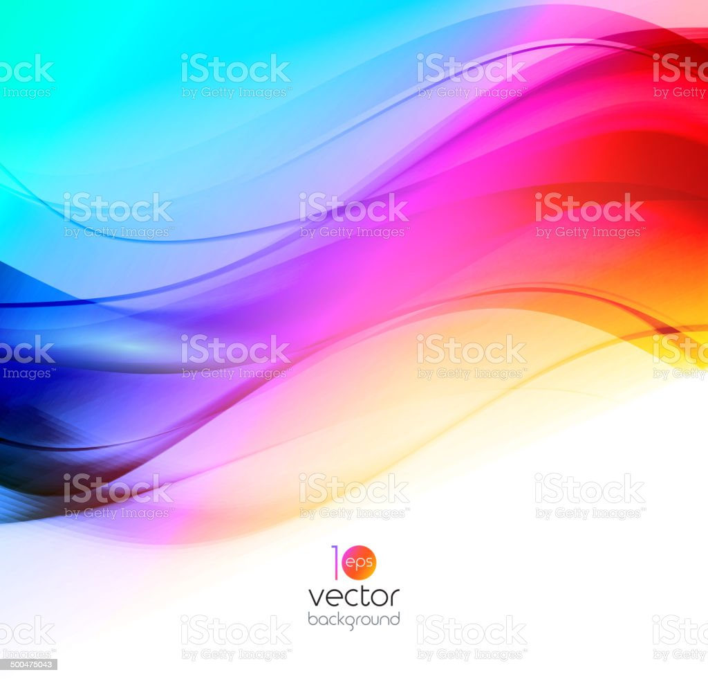 Abstract colorful template vector background. Brochure design royalty-free stock vector art