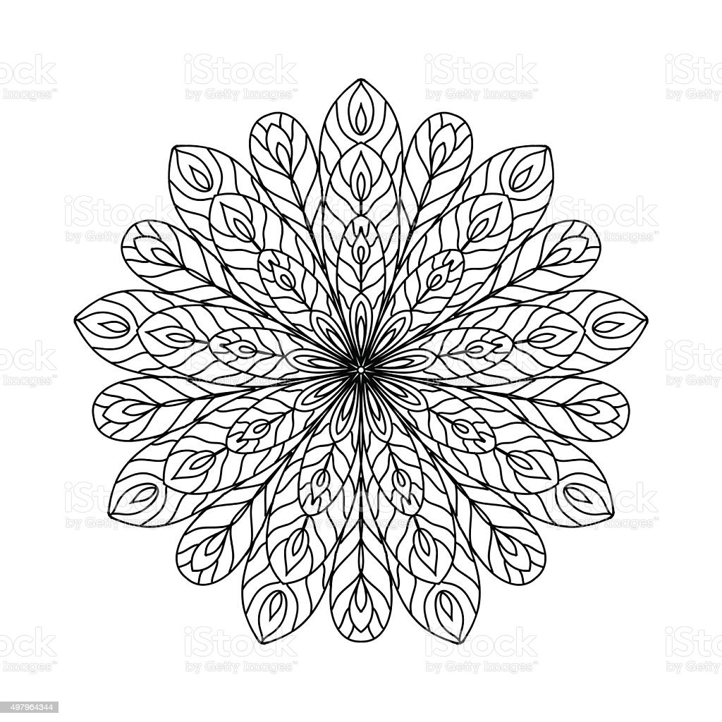 abstract coloring page stock vector art 497964344 istock
