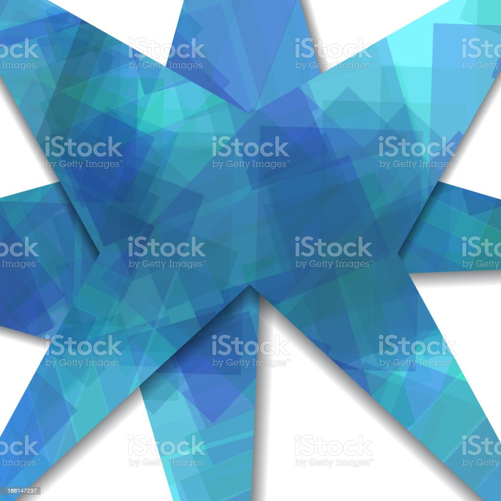 Abstract composition illustration royalty-free stock vector art