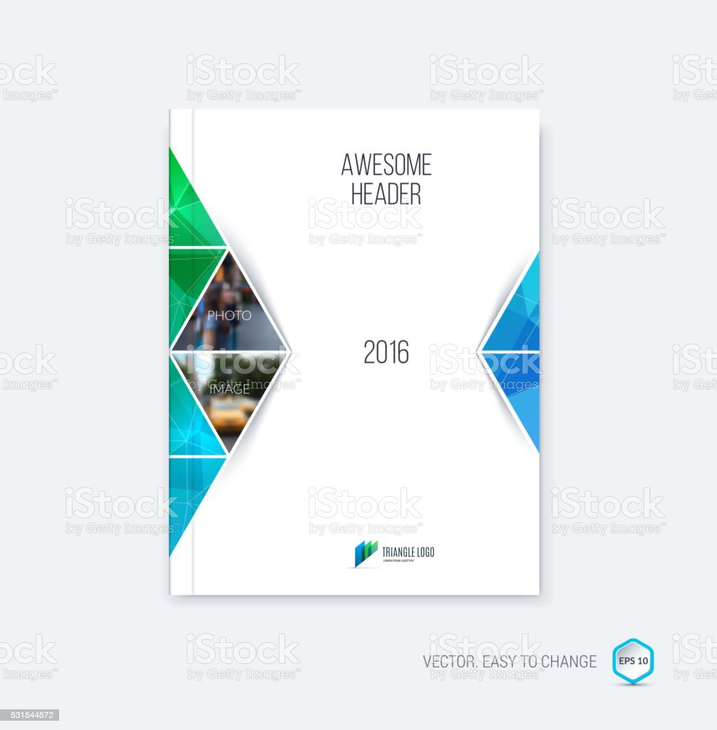 abstract cover design business brochure template layout report 1 credit