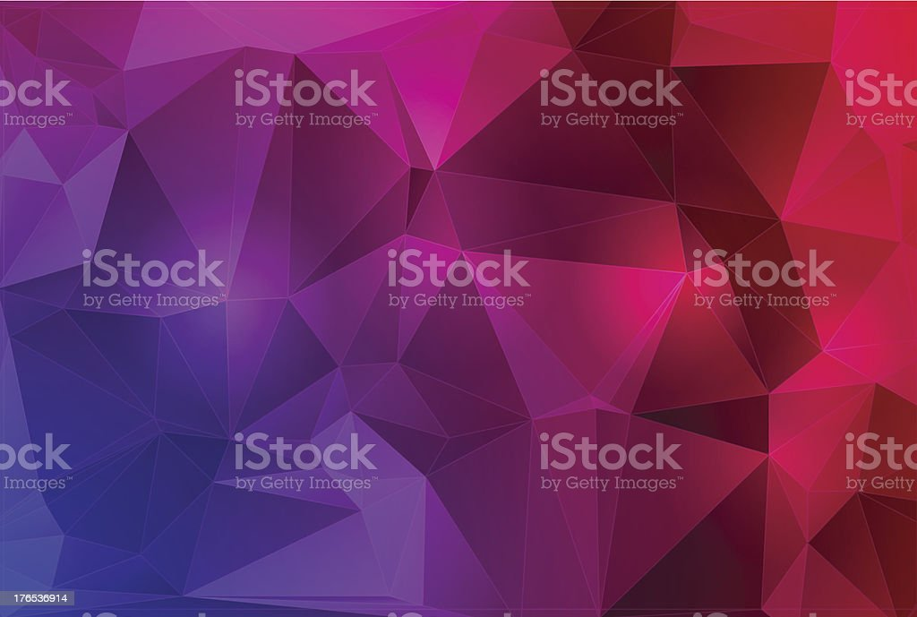 Abstract crystal background royalty-free stock vector art