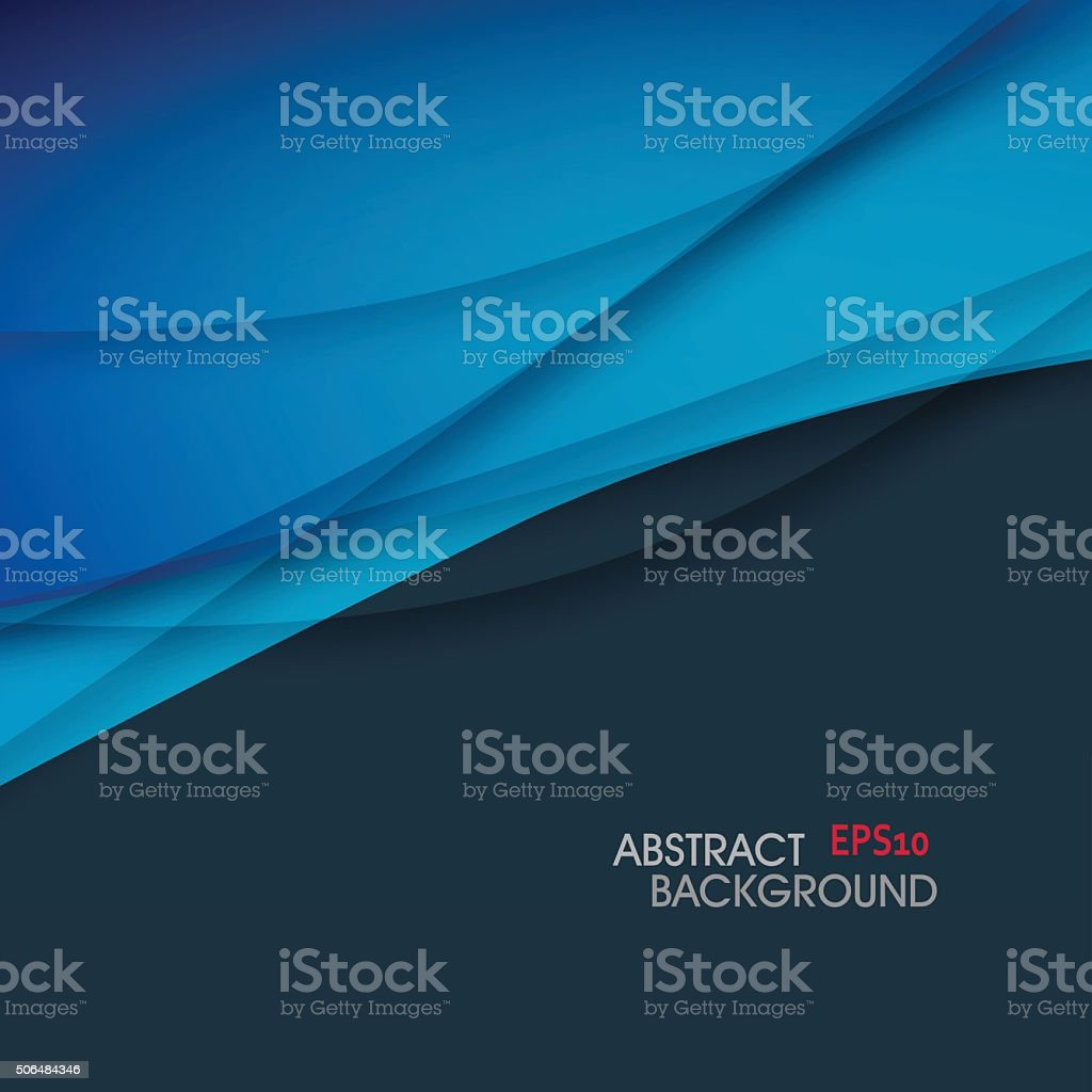 abstract curve gradient pattern background vector art illustration