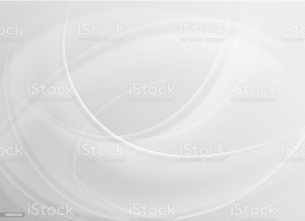 Abstract curved white background royalty-free stock vector art