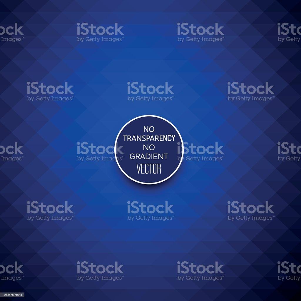 Abstract dark blue geometric background vector art illustration