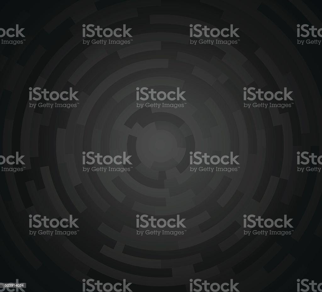 Abstract Dark Gray Background vector art illustration
