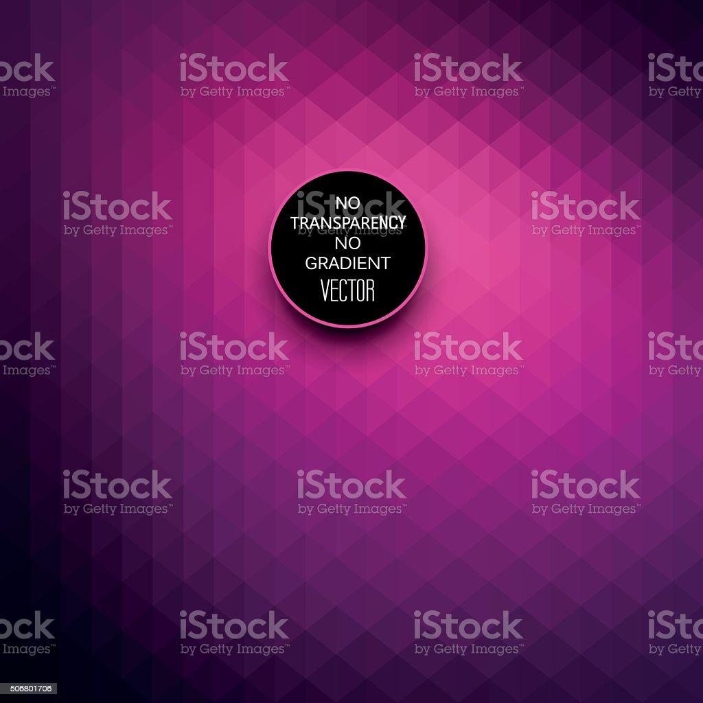 Abstract dark purple color geometric background vector art illustration