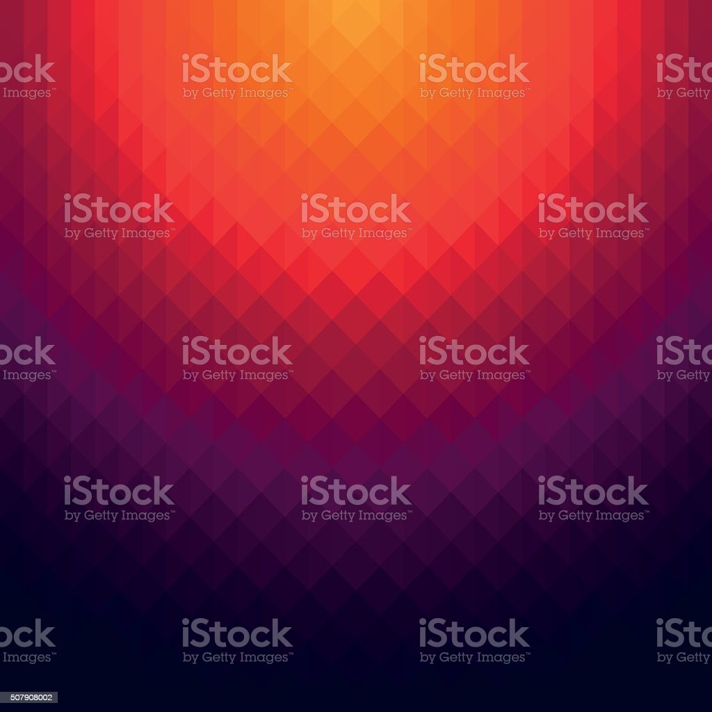 Abstract dark red & purple geometric background vector art illustration
